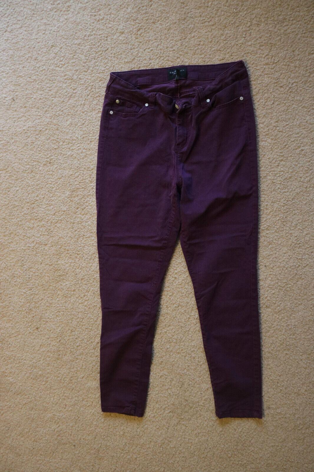 Celebrity Pink Jarden Skinny Women's Jeans purple Size 14