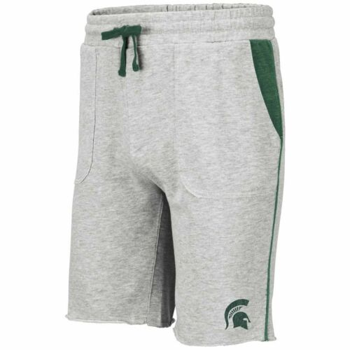 Michigan State Spartans Adult NCAA Medellin Shorts Gray