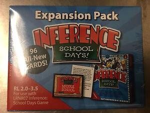 Edupress School Days Game Inference Expansion Pack Cards RL 2.0 - 3.5 LRN802