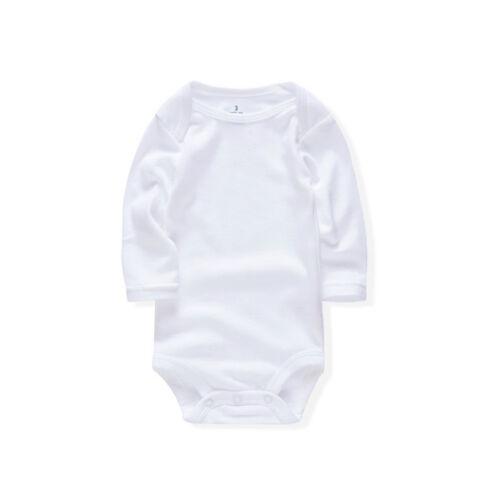 Bébé Nouveau née Bébé Filles Garçons Coton Barboteuse Combinaison Blac vêtement