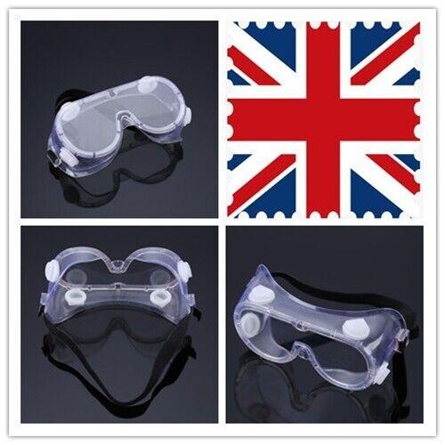 Protective Glasses Medical Flu Safety Goggles Work Lab Eye Protection Antifog