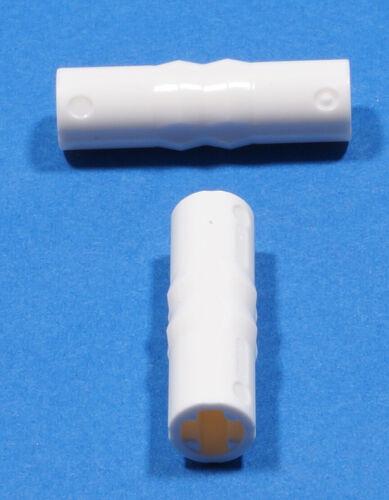 18948  NEUWARE Verbinder weiß  3 Noppen lang 2 x Kupplungs LEGO Technik