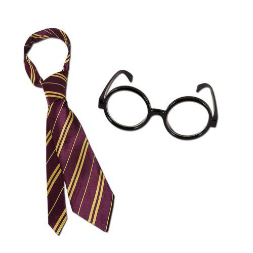 Wizard Harry Potter Book Week Day Fancy Dress Costume Robe Cloak Scarf Wand Tie