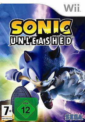 Sonic Unleashed (Nintendo Wii, 2009, DVD-Box)