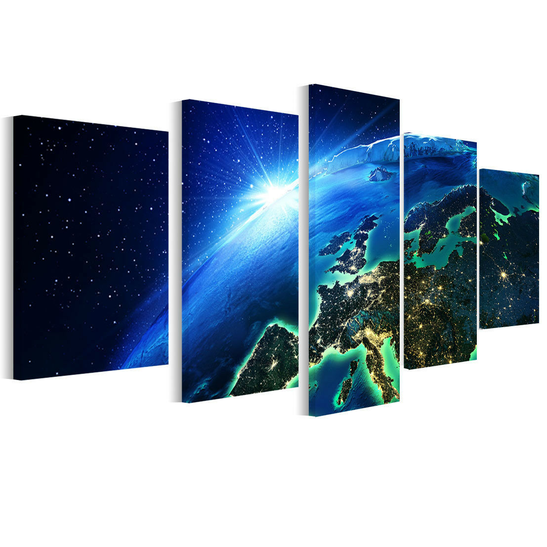 Leinwand Bilder In der Nacht - Foto, Bild, Wandbilder Fürs Wohnzimmer B5D175