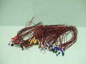 Mini-ampoule-3mm-12v-Lot-de-5-couleur-Rouge-ou-Verte