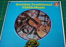 Scottish Traditional Fiddle Music / Vinyl /Olympic Records/ Atlas Series/ Rare