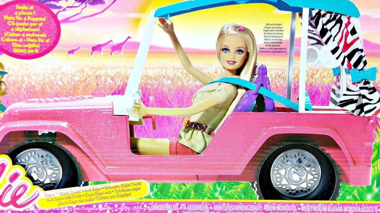 Barbie Hermanas Safari Cruiser 4 X 4 BHF96  nuevo