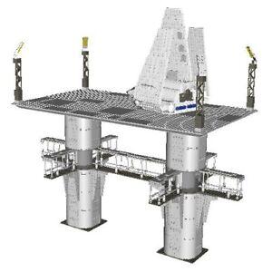 Lego-Imperial-Shuttle-amp-Landing-Platform-Star-Wars-Instructions-Custom-Endor