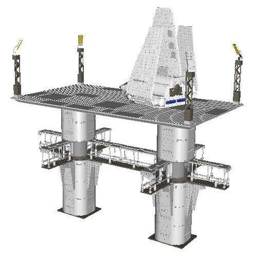 Lego Imperial Shuttle /& Landing Platform Star Wars Instructions Custom Endor