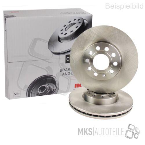Pagid EBD20228 Front Disque de frein Kit 2 pièces 300 mm à l/'Intérieur Ventilé Coated