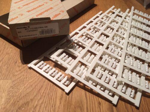 Weidmuller 1747320001 SFC 1//12 neutre WS Boîte de 200