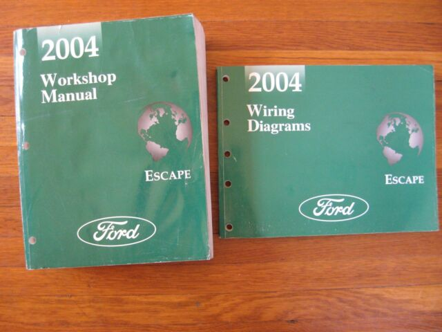 2004 Ford Escape Workshop Service Repair Manuals