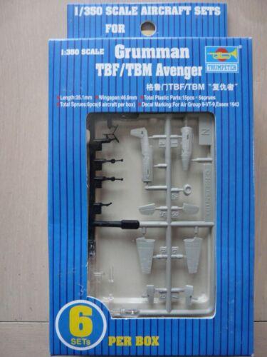 "TBM /""Avenger/"" Ref 06212 Maquette Avions 1//350 Trumpeter Grumman TBF"