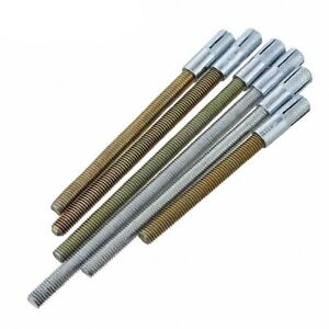 Details about Full Thread Rod Bolts + Concrete Sleeve Anchors Bulkhead  Support M6 M8 M10 M12
