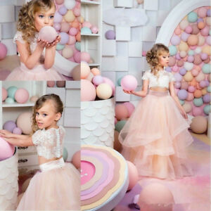 Formal-Two-Pieces-Champagne-Flower-Girl-Dress-For-Wedding-Party-Princess-Gowns