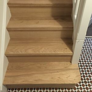 Oak Stair Cladding Bottom Bullnose Step EBay - Bullnose stair step tile