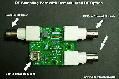 MADE IN USA! 1-30 mHz RF Sampler Ham Radio Station Modulation Monitor CB