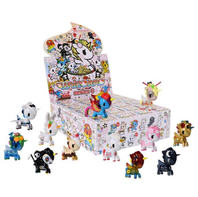 "Tokidoki UNICORNO SERIES 6 POP STAR Popcorn 3/"" Vinyl Figure Toy Opened Blind Box"
