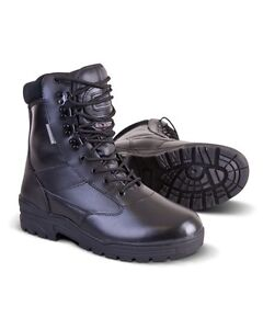 All-Leather-Patrol-Boots-Military-Army-Cadets-Security-Police