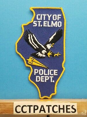 VILLAGE of ITASCA IL ILLINOIS PD POLICE shoulder patch