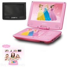 95in portable dvd player for kids with car headrest mount 3 hours rechargeable