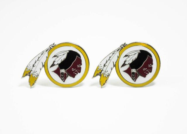 Nfl Football Washington Redskins Cufflinks For Sale Online Ebay