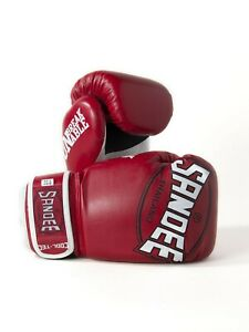 Sandee-Genial-Tec-Guantes-Boxeo-Ninos-Rojo-Muay-Thai-Kickboxing-Combate-Infantil