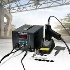 2in1 Pro Soldering Iron Desoldering Rework Station Vacuum Pump Gun Yh 948 80w