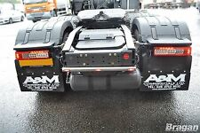 2013+ Volvo FH4 Polished Stainless Steel Rear Truck Chassis Light Bar + Led