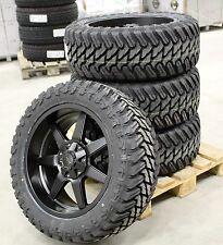 Dirt D39 9x20 5x120/127 Felgen + Reifen Atturo M/T 33x12,5x20 Jeep Wrangler Neu