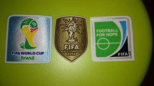 FIFA 2014 WM  2× Arm Patch Badges Winner Badge Für DFB Deutschland Trikot
