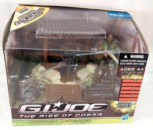GI Joe• OUTPOST DEFENDER PLAYSET• 2009 Hasbro Walmart Exclusive• w/Roadblock
