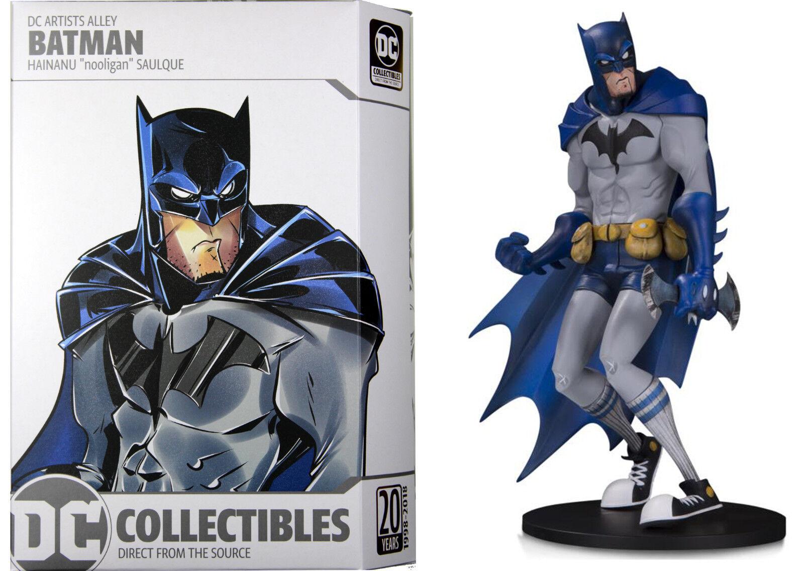 DC Comics artista callejón  Batman Estatua por HAINANU nooligan saulque  DC