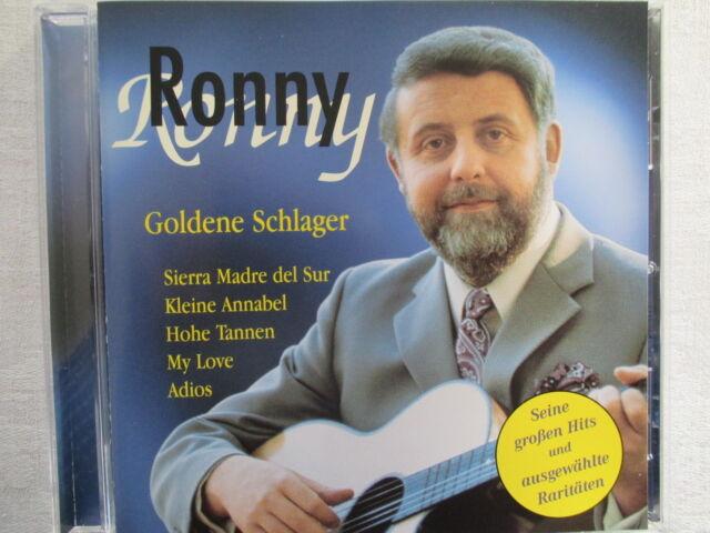 Ronny - Goldene Schlager - CD Neuwertig