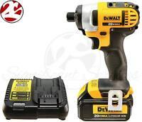 Dewalt Dcf885 20v 20 Volt Max Lithium Ion 1/4 Impact Drill Driver Kit
