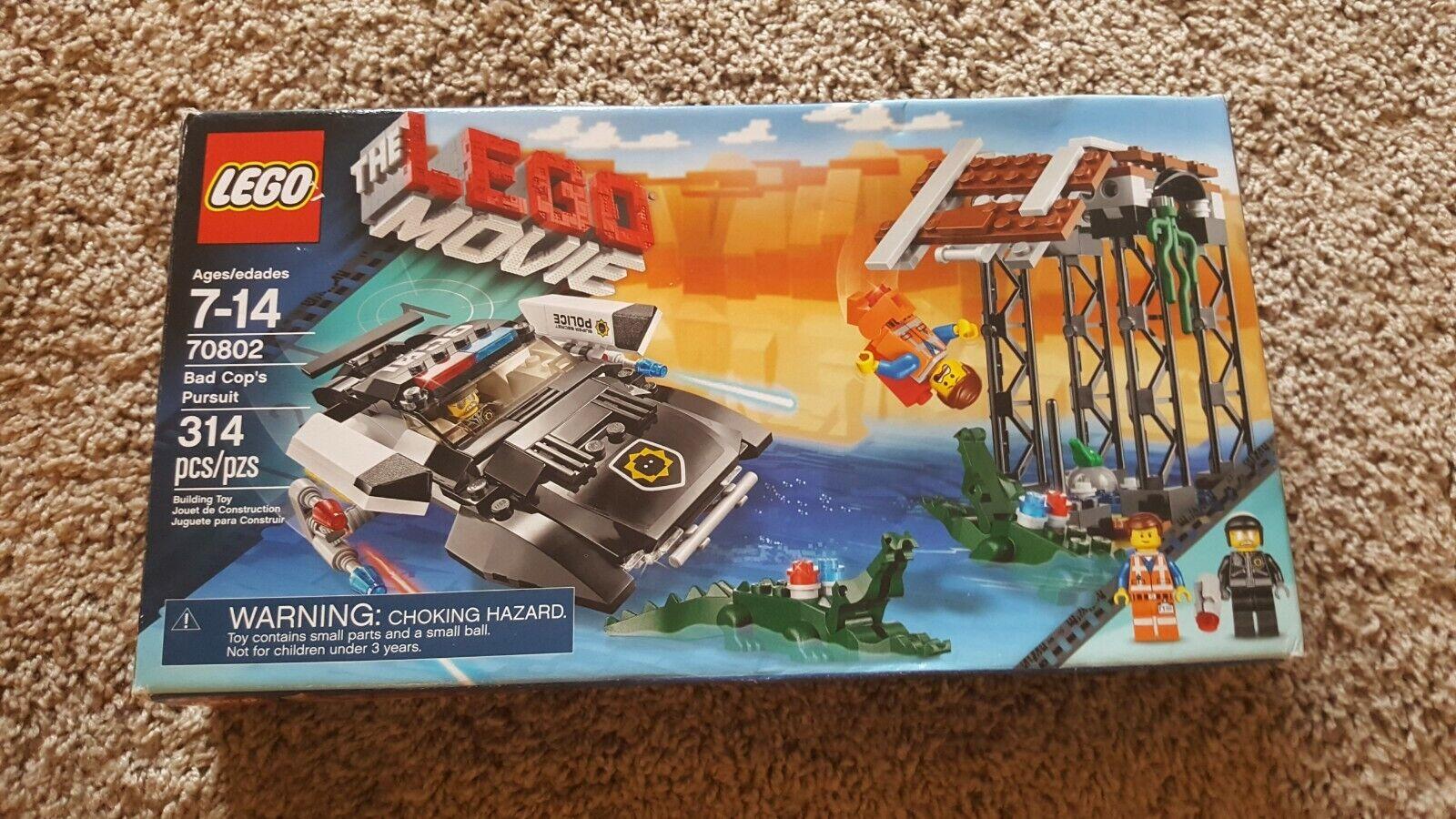 LEGO  The Lego Movie  70802 Bad Cop's Pursuit (Not Full)  è scontato
