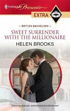 Sweet Surrender with the Millionaire, Brooks, Helen, 0373527772, Book, Good
