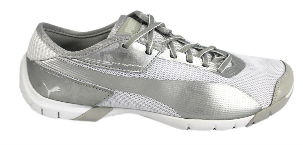 Puma Future Chat SL Presque comme neuf Hommes Baskets blanche filet (304906 03 u25)-