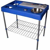 Portable Fish Table Hunting Cleaning Cutting Camping Fillet Station Table