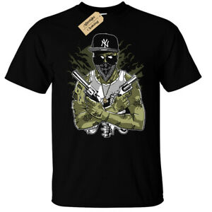 Gangsta-Zombie-T-Shirt-Mens-funny-zombies-gangster