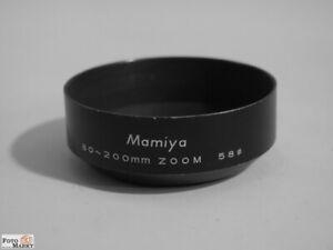 Mamiya-Blende-fur-Zoom-Objektiv-80-200-mm-58-Metall-Sonnenblende