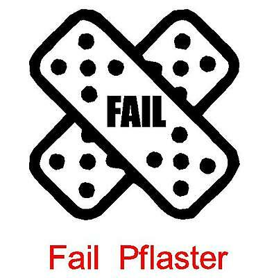 Fail Pflaster JDM Sticker aufkleber oem