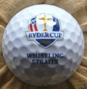 Collectible Golf Ball...2020 Ryder Cup...Whistling Straits