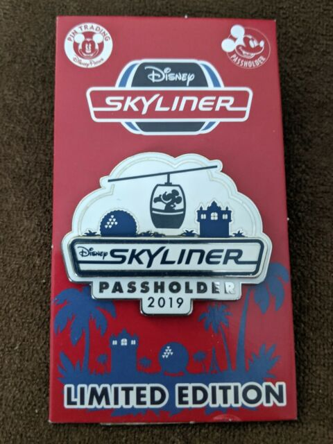 Walt Disney World Skyliner Opening Annual Passholder Limited Edition Pin