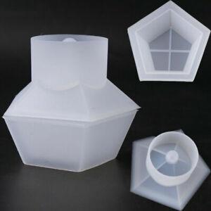 Silicone Jewelery Storage Box Resin Mold Making Epoxy Mould Casting Craft DIY