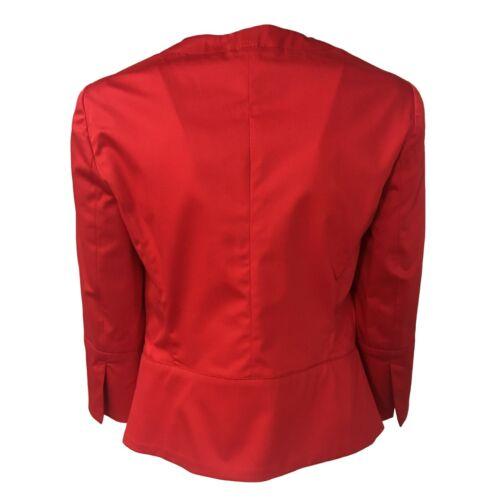 3 Rouge Femme Baglio coton 96 Élasthanne 4 Mod Pennyblack Veste Manches 4 wqIwp6