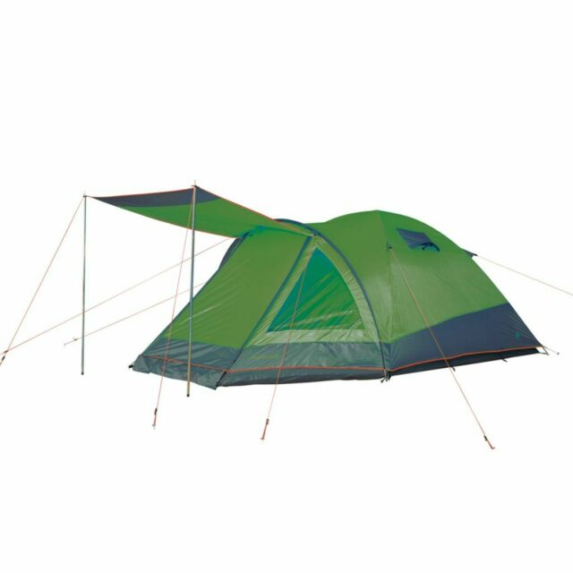 Camp Gear Tenda da Campeggio 3 Persone Rio Grande 355x210x130 cm Verde 4471530