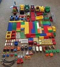 Huge Duplo Job Lot Bundle Blocks People Animals Tools Vehicles