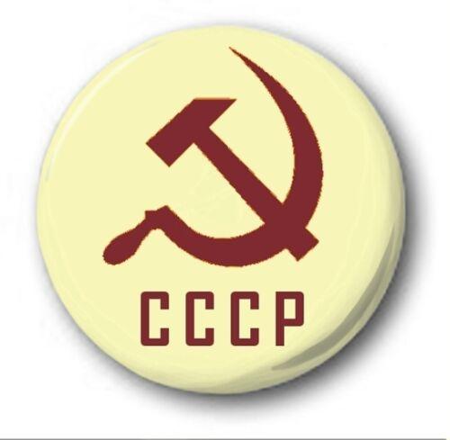 2.5cm//25mm Knopf-Abzeichen Sowjetisch Sammlung Kommunist Cccp USSR Russland